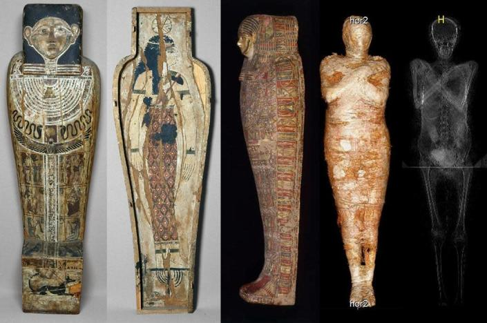 The mummy was extremely well preserved, suggesting high social standing. / Credit: Warsaw Mummy Project