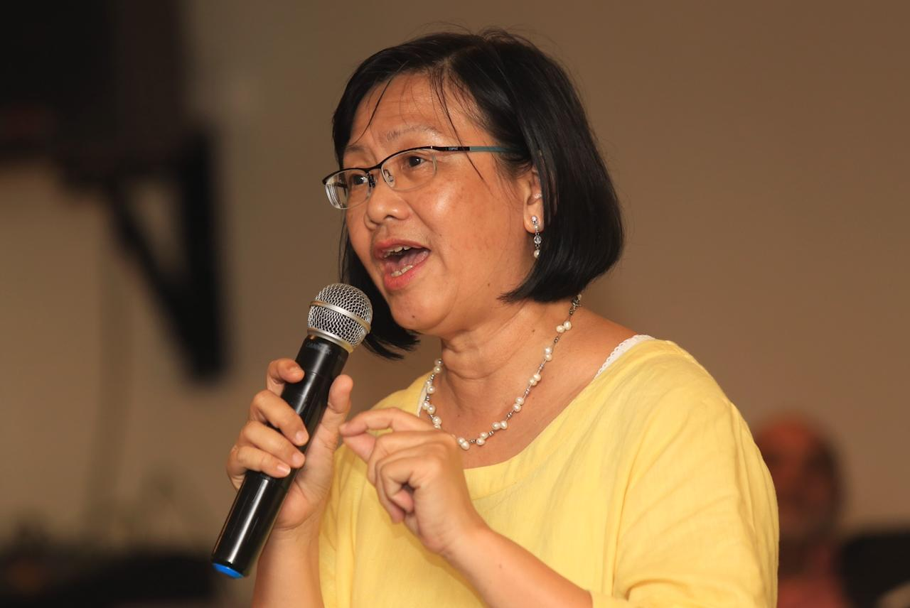 Maria Chin Abdullah defended PAS's right to freedom of assembly and said it was up to PAS to negotiate the venue for its February 18 rally. ― Picture by Saw Siow Feng