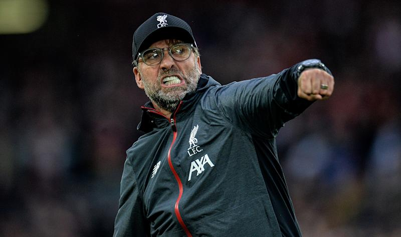 Jurgen Klopp and Liverpool have an extraordinary opportunity to finally end the club's three-decade Premier League title drought. (Getty)
