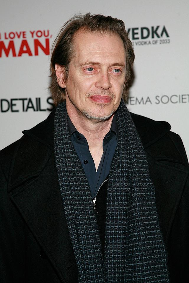 "<a href=""http://movies.yahoo.com/movie/contributor/1800019554"">Steve Buscemi</a> at the New York Cinema Society screening of <a href=""http://movies.yahoo.com/movie/1810022085/info"">I Love You, Man</a> - 03/06/2009"