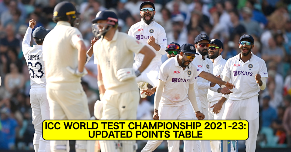 ICC World Test Championship 2021–23: Updated Points Table After 4th Test Between England and India