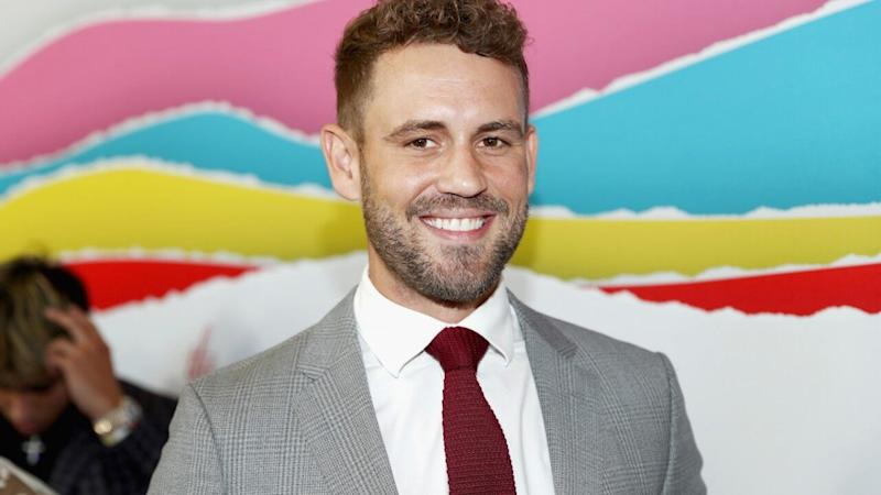 Nick Viall Channels 'Bachelor' Peter Weber Post-Face Injury in Halloween Costume: See the Pic