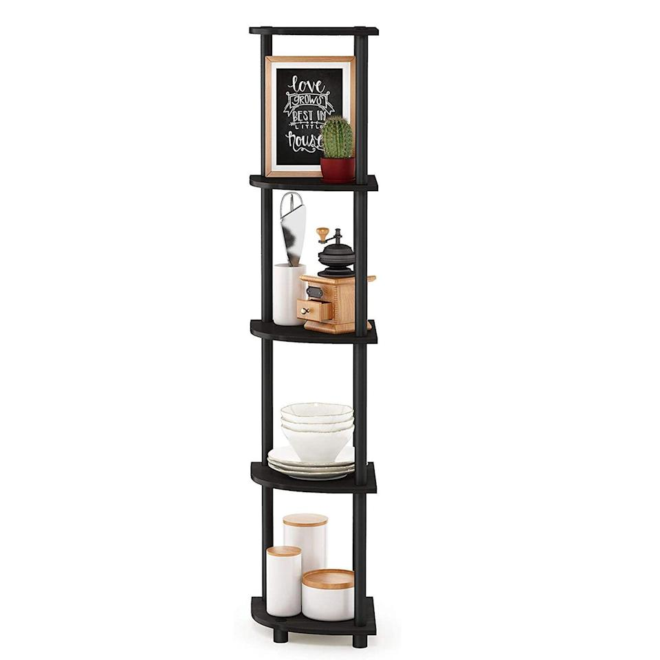 Furinno Turn-N-Tube 5 Tier Corner Shelf