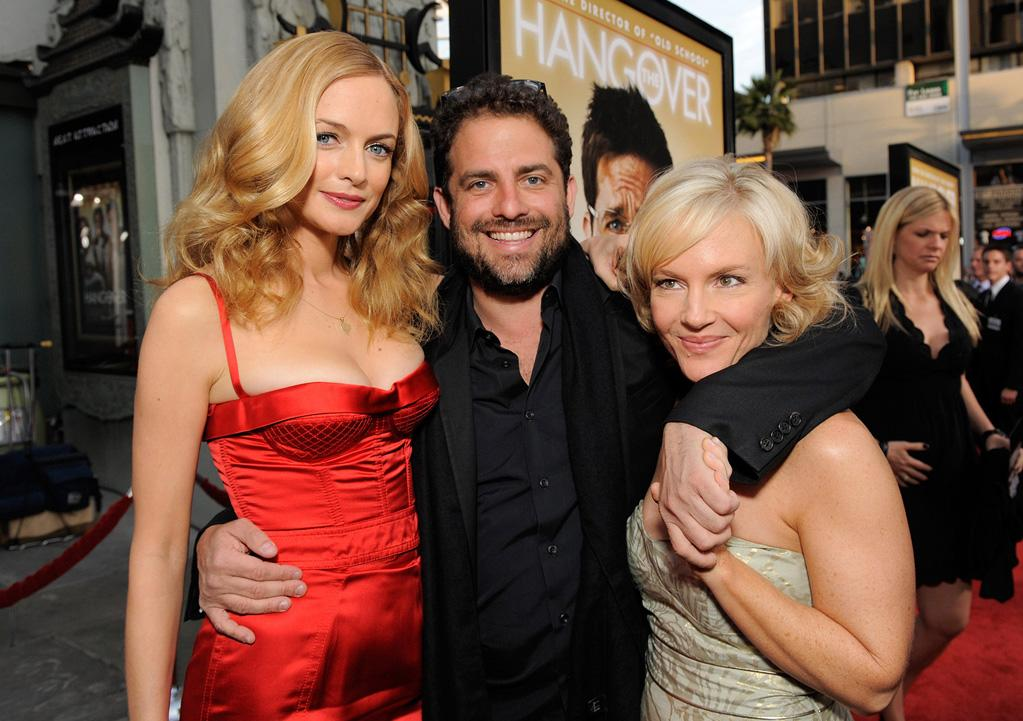 """<a href=""""http://movies.yahoo.com/movie/contributor/1800018677"""">Heather Graham</a>, <a href=""""http://movies.yahoo.com/movie/contributor/1800024303"""">Brett Ratner</a> and <a href=""""http://movies.yahoo.com/movie/contributor/1807733767"""">Rachael Harris</a> at the Los Angeles premiere of <a href=""""http://movies.yahoo.com/movie/1810044687/info"""">The Hangover</a> - 06/02/2009"""