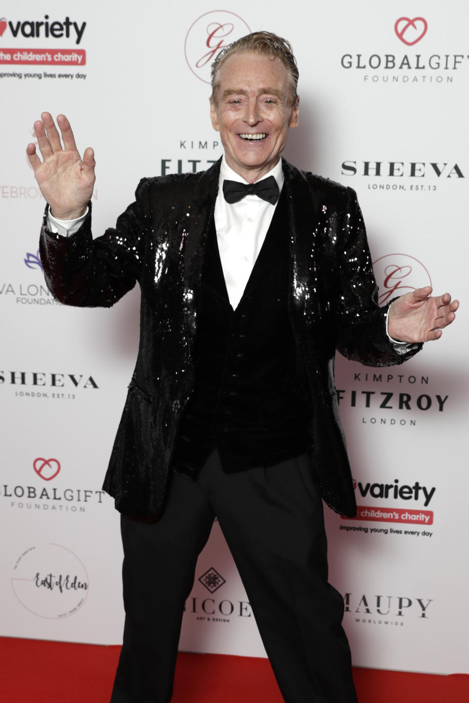 LONDON, ENGLAND - OCTOBER 17: Brian Travers attends the annual Global Gift Gala London at Kimpton Fitzroy Hotel on October 17, 2019 in London, England. (Photo by John Phillips/Getty Images)