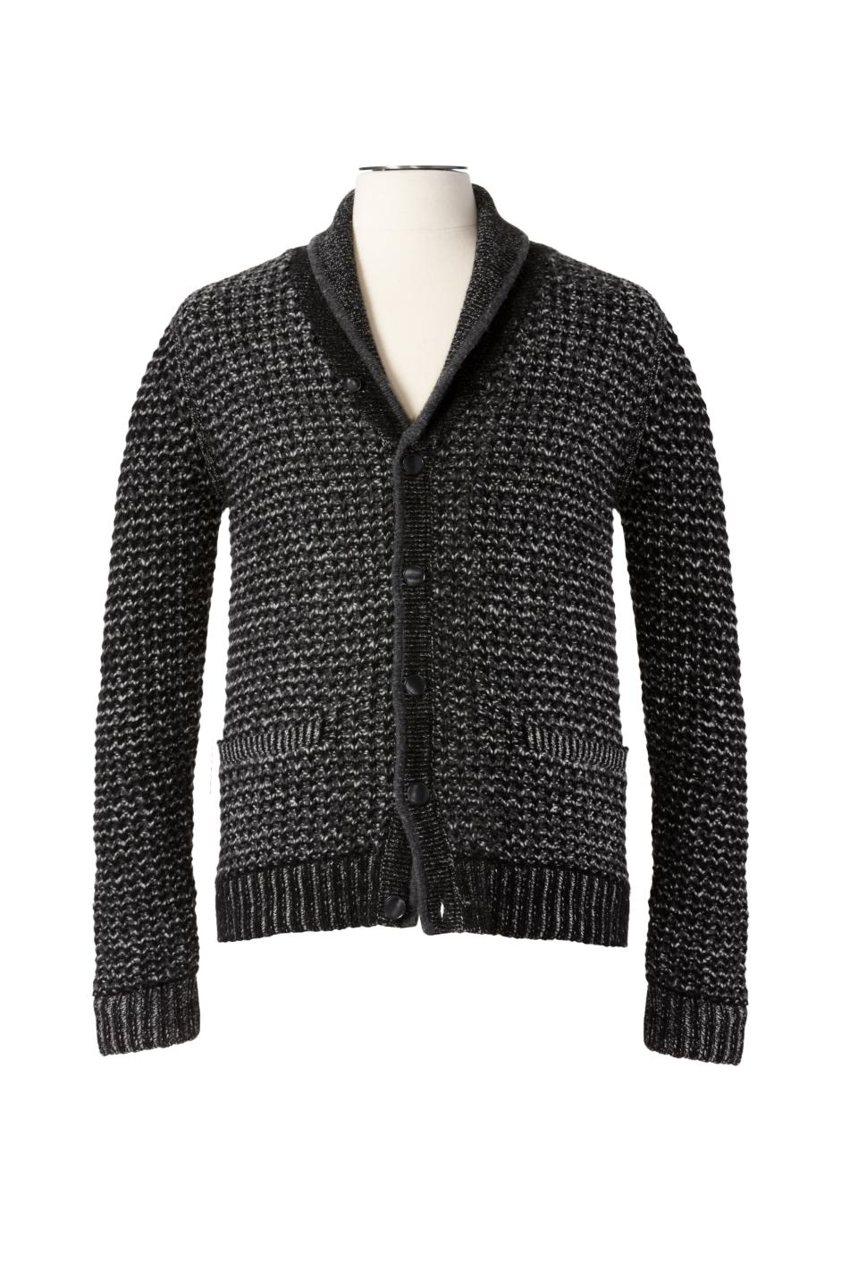 <b>rag & bone for Target + Neiman Marcus Holiday Collection Boy's and Men's Sweater </b><br><br> Men's Sweater Price: $69.99, Size: S – XL <br><br> Boy's Sweater Price: $49.99, Size: S – XL <br><br>
