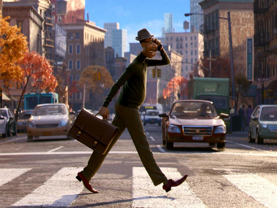 'Soul' is the latest release from the acclaimed Pixar animation studio (Disney)