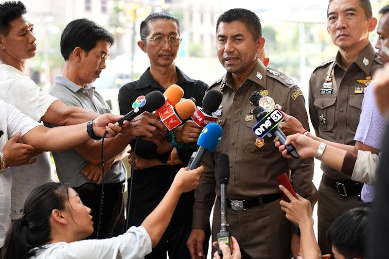 """Thai immigration chief Surachet Hakparn responded on Twitter too, saying """"we stand for humanity"""" (AFP Photo/Lillian SUWANRUMPHA)"""