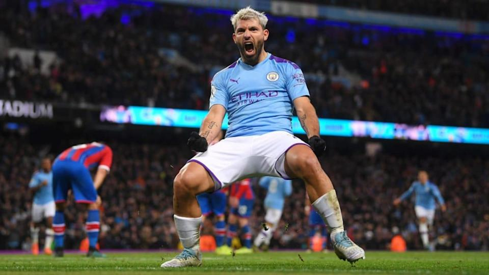 Agüero | Laurence Griffiths/Getty Images