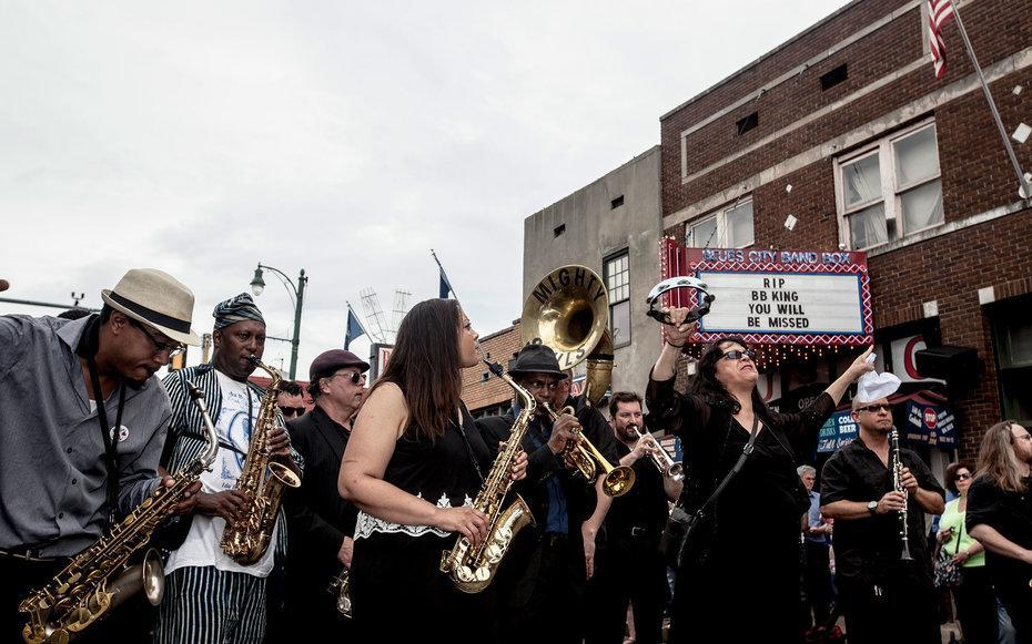April 29 to May 1, 2016 Lenny Kravitz, Ed Sheeran, and the Pixies are just a few of the names who played at last year's Beale Street Music Festival, and though this year's lineup is yet to be released, we have a feeling that it well be just as epic as 2015's. (Other past artists include Iggy Pop, BB King, Bob Dylan, MGMT, Lou Reed, and MGMT.) Part of Memphis in May, which lasts all month long, the festival also incorporates local artists, staying true to the city's roots as a progressive musical destination. Have extra time? Stick around for the World Championship Barbeque Cooking Contest, which will be held from May 12 to 14.