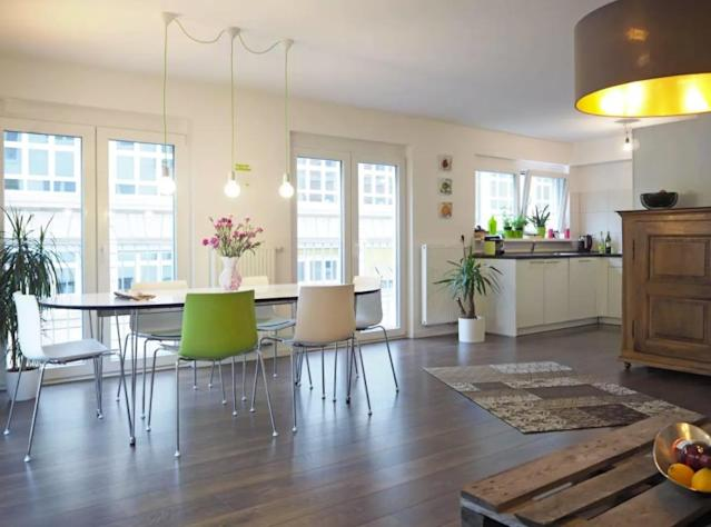 <p>And the least stressful city in the world is Stuttgart, Germany. This luxury one-bedroom flat rents for $115 a night. (Airbnb) </p>