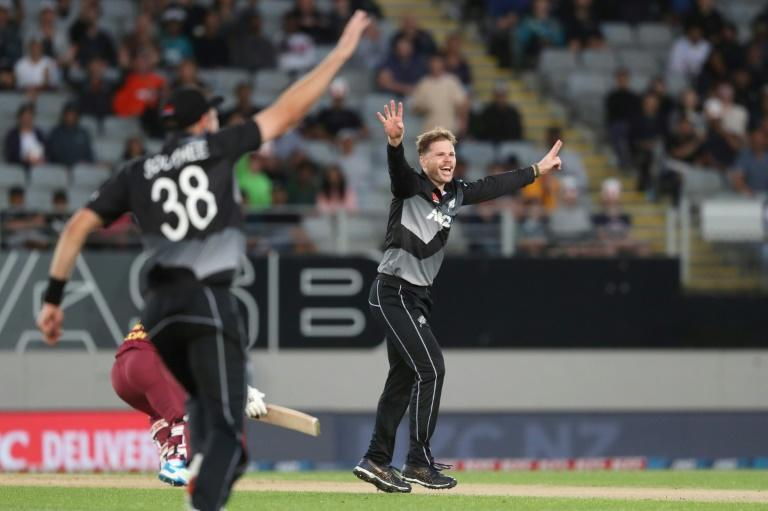 New Zealand's Lockie Ferguson put in a man-of-the-match performance in Auckland