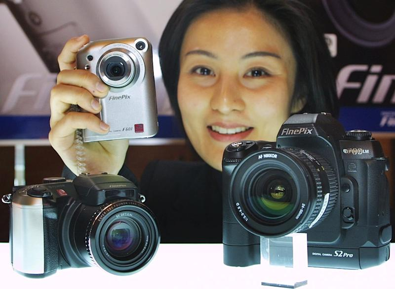 Fujifilm has shifted into businesses such as the health sector after the plunge in photo film sales