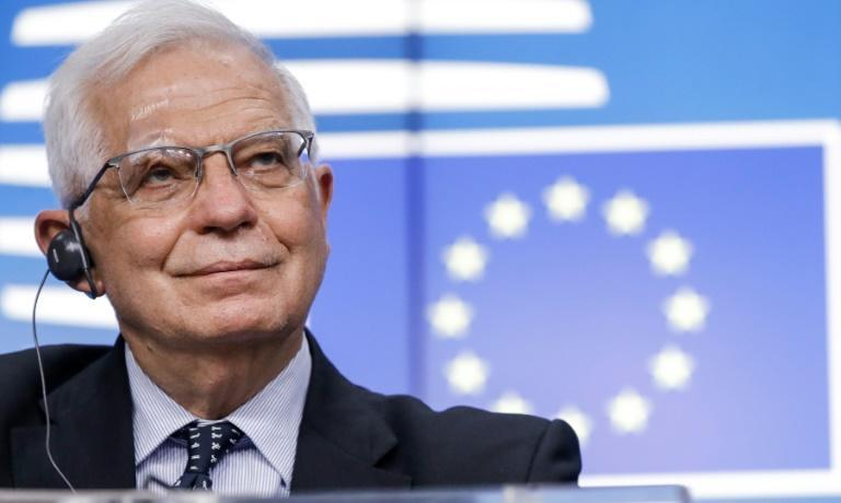 EU foreign policy chief Josep Borrell said now was the time to 'employ the language of power'