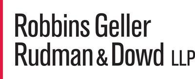 Robbins Geller, with 200 lawyers in ten offices, represents U.S. and international institutional investors in contingency-based securities and corporate litigation. The firm has obtained many of the largest securities class action recoveries in history, including the largest securities class action judgment. Please visit  https://www.rgrdlaw.com for more information. (PRNewsFoto/Robbins Geller Rudman & Dowd LLP)