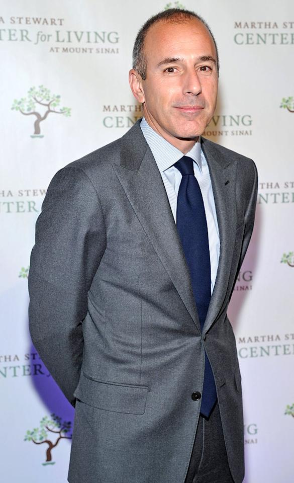 """Today"" host Matt Lauer turns 54 on December 30."