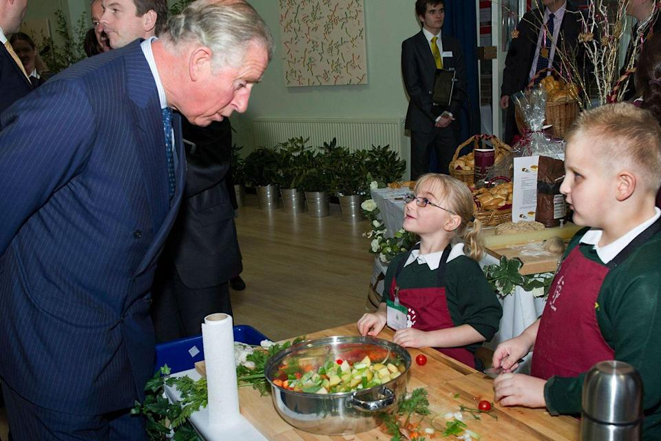 "<p>When Prince Charles wants more food, he asks for a second ""helping"" rather than another portion. </p>"