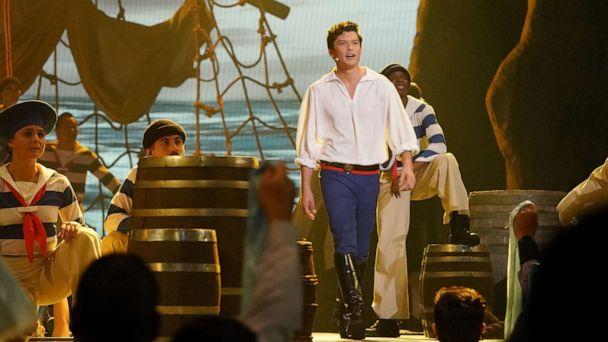 PHOTO: Graham Phillips, as Prince Eric, performs in the live musical event showcasing 'The Little Mermaid' on ABC. (Eric Mccandless/ABC)