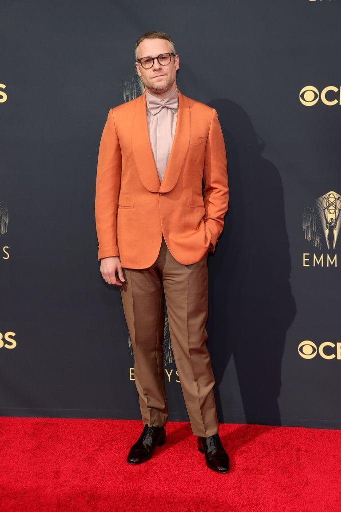Seth Rogen attends the 73rd Primetime Emmy Awards on Sept. 19 at L.A. LIVE in Los Angeles. (Photo: Rich Fury/Getty Images)
