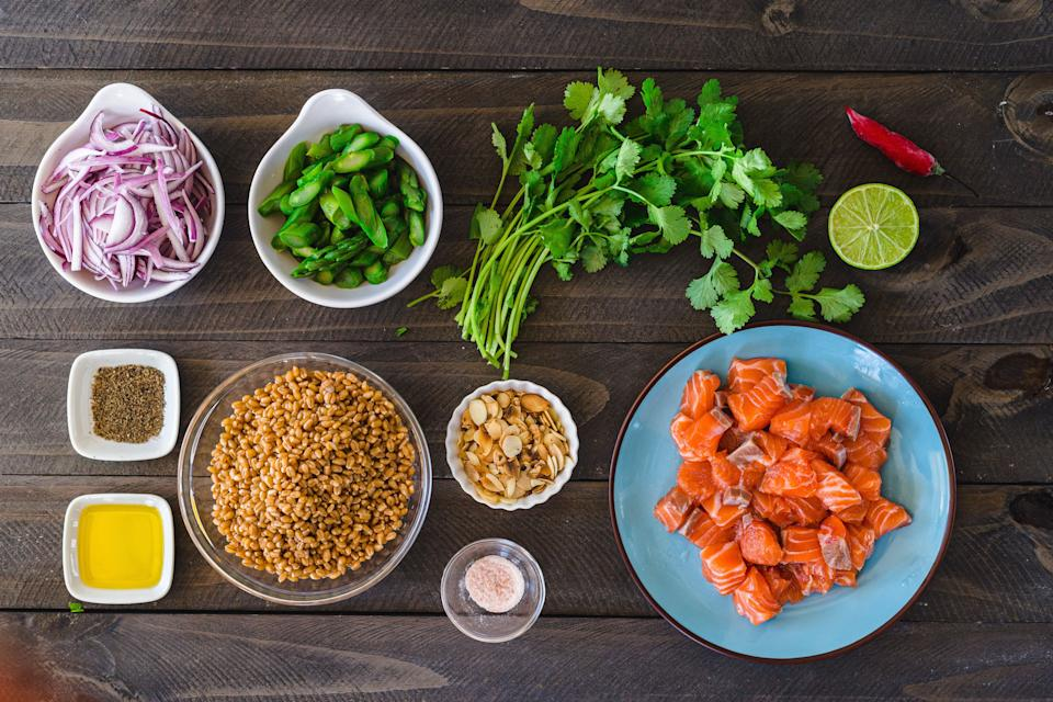 Ever wonder why cooking looks so easy on TV shows? It's because of mise en place. (Photo: Luca Melo via Getty Images)