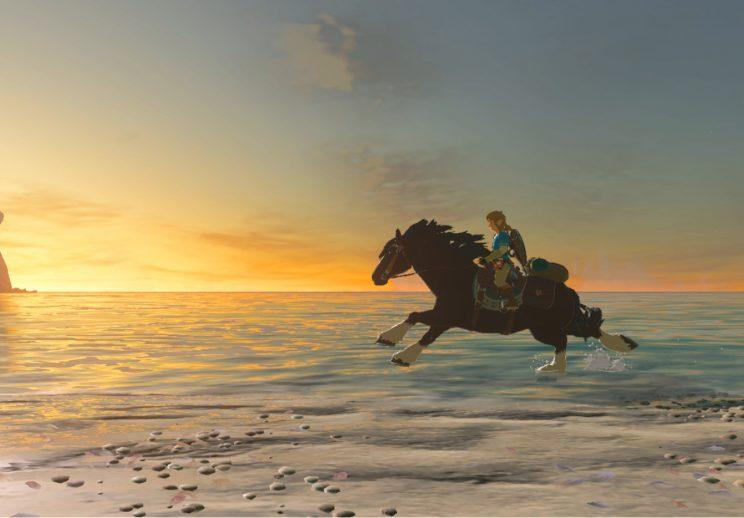 Breath of the wild on the road.