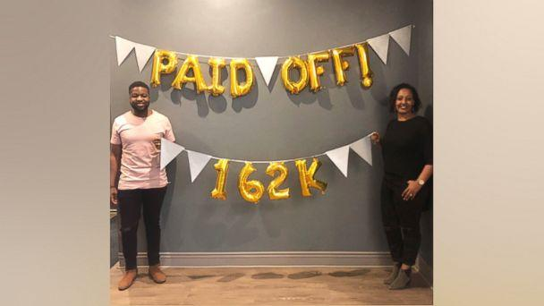 PHOTO: Elijah Bankole, 30, and Heron Abegaze, 29, shared how they paid off $160,000 in debt in less than three years on 'GMA.'  (Courtesy Elijah Bankole)
