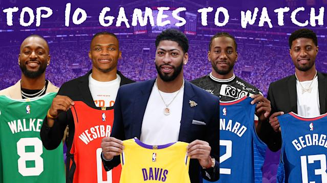 Nba Games 2020.The 10 Must Watch Games Of 2019 2020 Nba Season