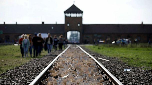 FILE PHOTO: Participants attend the annual 'March of the Living' to commemorate the Holocaust at the former Nazi concentration camp Auschwitz, in Brzezinka near Oswiecim, Poland, May 2, 2019. REUTERS/Kacper Pempel/File Photo (Kacper Pempel/Reuters)