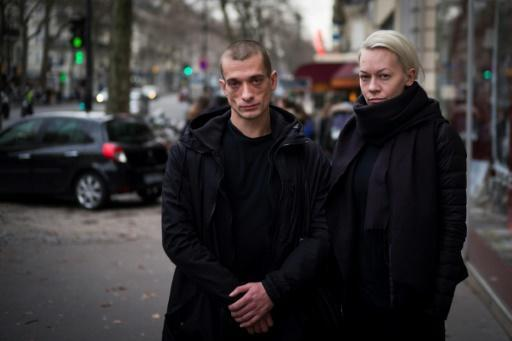 Controversial Russian artist Pavlensky wins asylum in France: lawyer