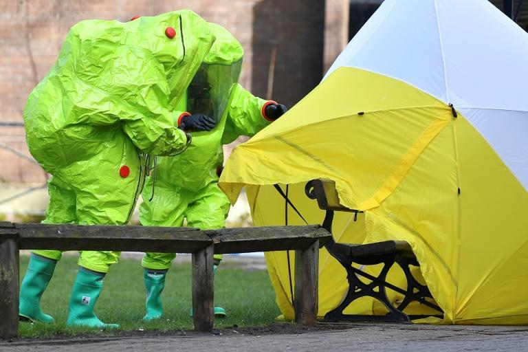 The attack on the former Russian spy was first use of chemical weapons in Europe since World War II