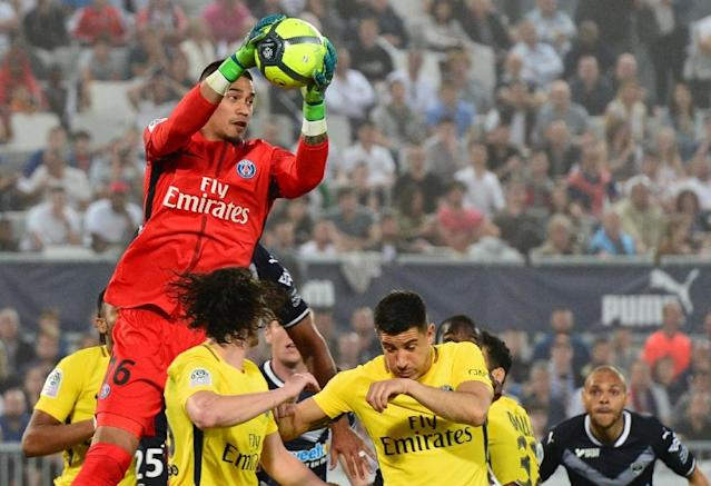 Areola has kept more clean sheets than any other goalkeeper in Ligue 1 this season (AFP Photo/NICOLAS TUCAT)