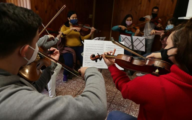Rehearsing during the pandemic gave members of the Latin Vox Machine orchestra a purpose and objective