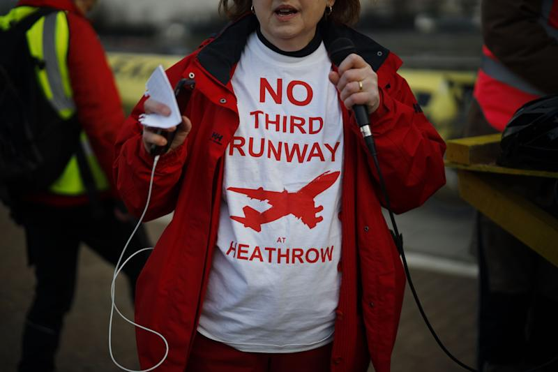 The fight over Heahthrow's third runway has run on for decades.  (Photo: TOLGA AKMEN via Getty Images)