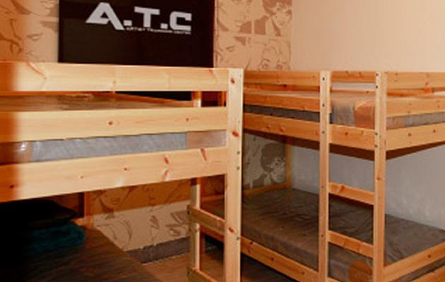 These spartan bunks will be home for Nat Ho for the next nine years (Photo courtest of Veloce Group)