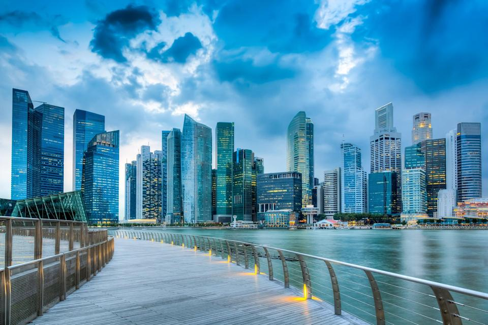 The Singapore skyline (Getty Images/iStockphoto)