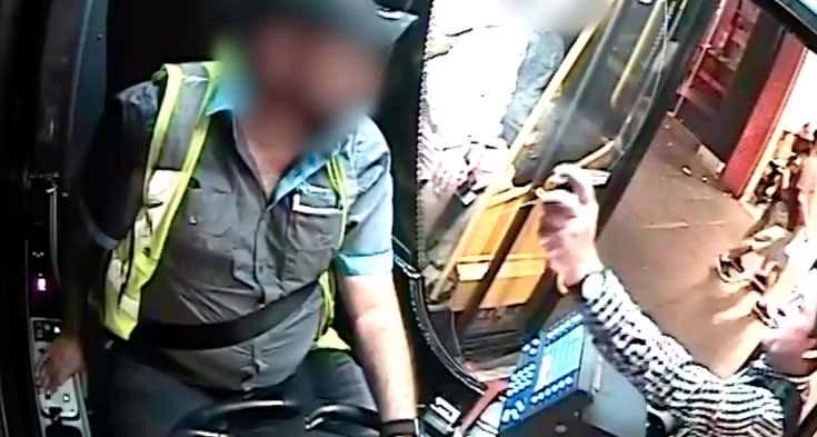 Bus driver 'sprayed in face with chemical' after denying passenger ride