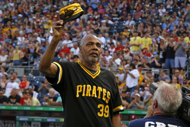 MLB Network will profile the life and career of baseball legend Dave Parker. (AP Photo/Gene J. Puskar)