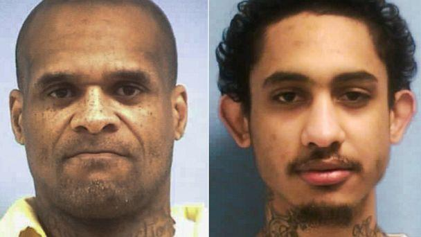 PHOTO: Undated photos show David May, 47, and Dillion Williams, 27, who were discovered missing during an emergency count about on Jan. 4, 2020, in Jackson, Miss. (Mississippi Department of Corrections)