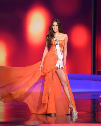 The beauty queen became best pals with Miss Vietnam during the competition