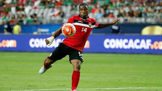 <p><strong>Place of birth: Enfield</strong></p> <br><p>With both parents born in Trinidad it made sense for Boucaud to try his luck with the national team, with the well-travelled midfielder now a mainstay for the Soca Warriors. Back in England, the 32-year-old has wandered through the lower leagues, playing for the likes of Peterborough United, Kettering Town and now Dagenham & Redbridge.</p> <br><p><strong>Number of caps for Trinidad & Tobago: 46</strong></p>