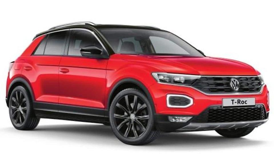 2021 Volkswagen T-Roc SUV launched at Rs. 21.35 lakh
