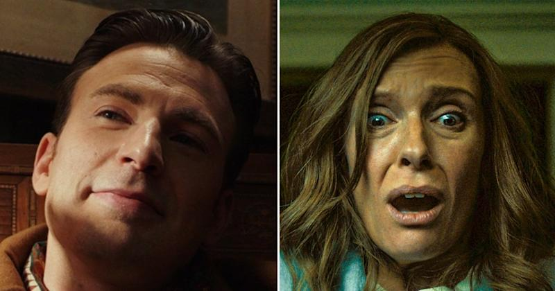 Chris Evans raving about Toni Collette in Hereditary to Toni