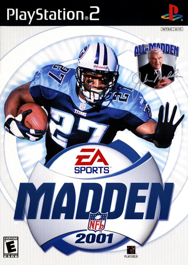 Madden 2001 cover (via EA Sports/Sony)