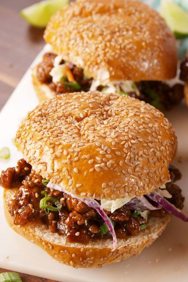 "<p>You'll be so happy you tried this delicious Asian twist on the American classic.</p><p><em><strong>Get the recipe at <a href=""https://www.delish.com/cooking/recipe-ideas/recipes/a57982/asian-sloppy-joes-recipe/"" rel=""nofollow noopener"" target=""_blank"" data-ylk=""slk:Delish"" class=""link rapid-noclick-resp"">Delish</a>.</strong></em></p>"