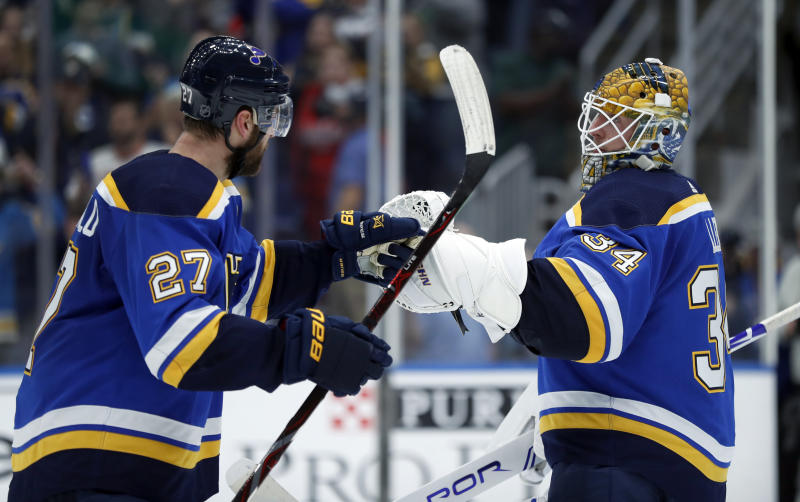 Ovechkin scores 30th goal but Blues rally past Capitals 5-2