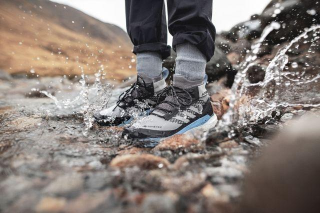 Adidas releases GORE-TEX version of the TERREX Free Hiker