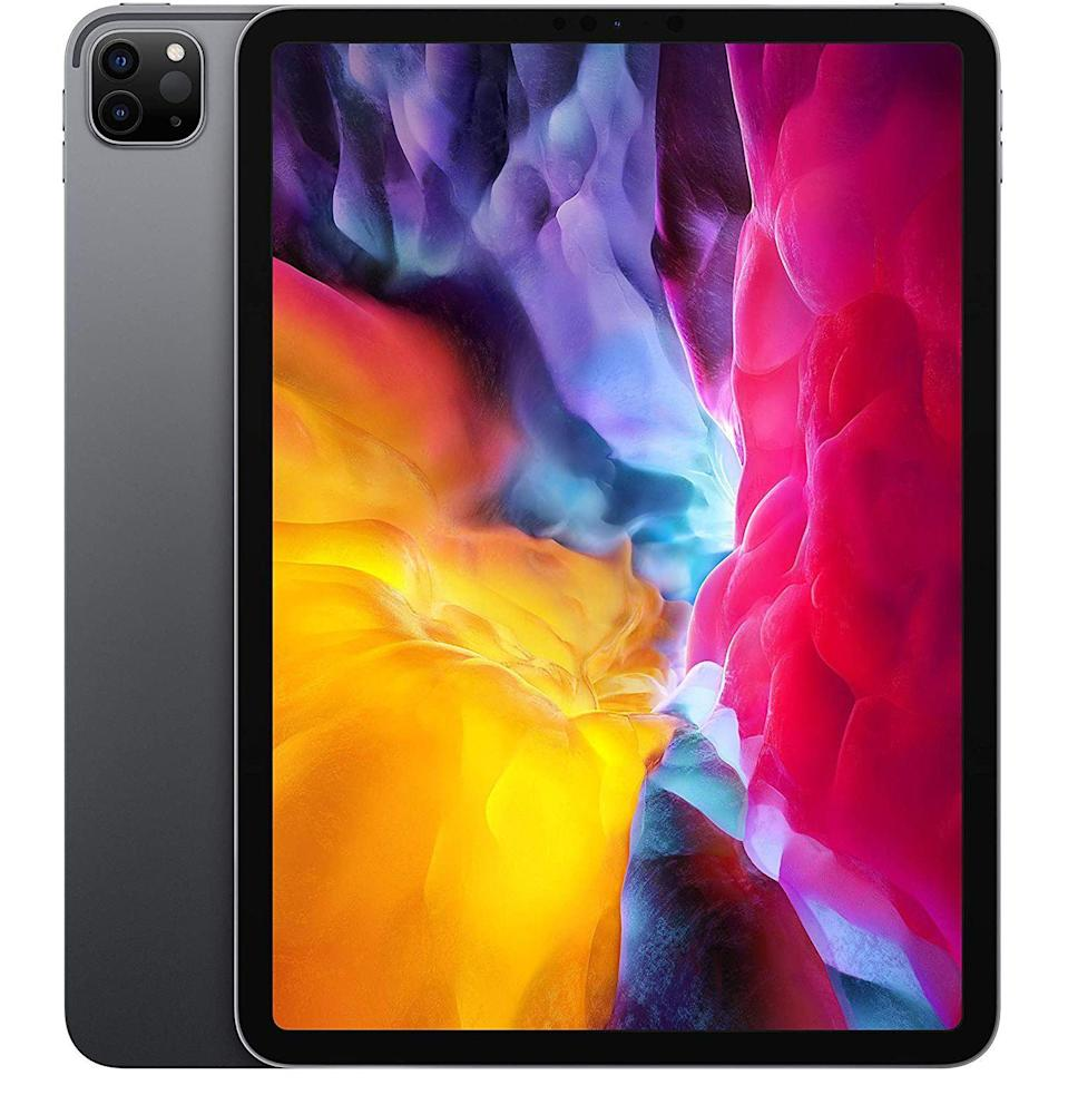 """<p><strong>Apple</strong></p><p>amazon.com</p><p><strong>$749.99</strong></p><p><a href=""""https://www.amazon.com/dp/B08631S3BP?tag=syn-yahoo-20&ascsubtag=%5Bartid%7C10054.g.34347153%5Bsrc%7Cyahoo-us"""" rel=""""nofollow noopener"""" target=""""_blank"""" data-ylk=""""slk:Shop Now"""" class=""""link rapid-noclick-resp"""">Shop Now</a></p><p>Better yet, ditch the Macbook altogether and do your work on the latest (and most powerful) iPad Pro.</p>"""