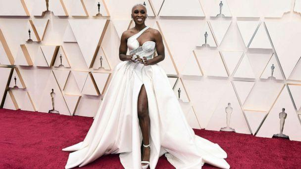 PHOTO: Cynthia Erivo attends the 92nd annual Academy Awards, Feb. 9, 2020, in Hollywood, Calif. (Jordan Strauss/Invision/AP)