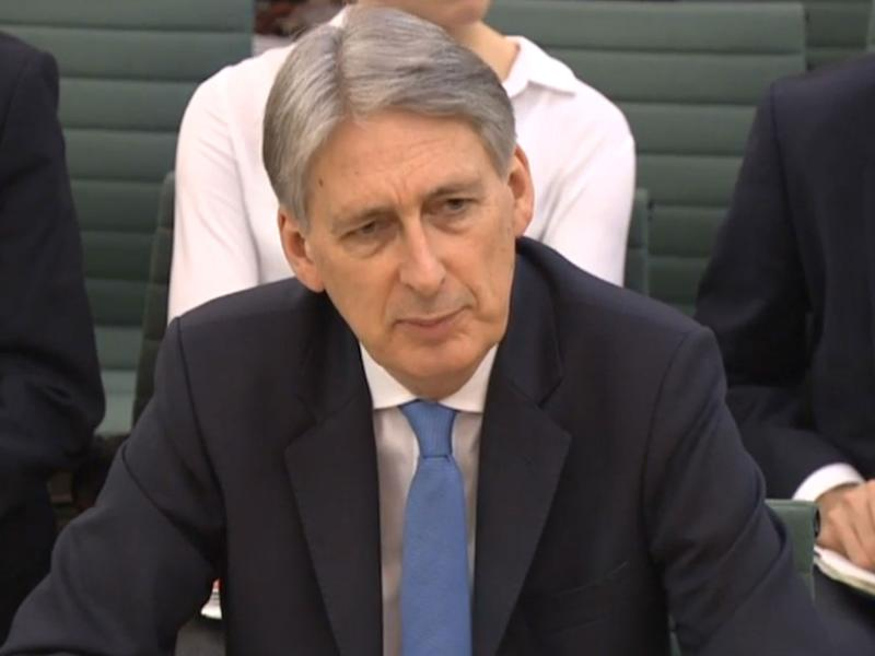 Philip Hammond faced questions in front of the Treasury Select Committee on the subject of the Budget - and Brexit: PA