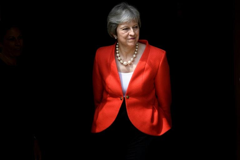 Britain's Prime Minister Theresa May will brief her 27 EU colleagues, then they will leave to discuss Brexit over dinner without her